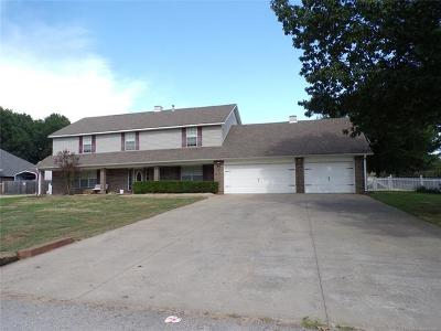 Coweta Single Family Home For Sale: 13961 S 261st East Avenue