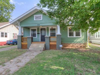 Tulsa Single Family Home For Sale: 1935 E 13th Place
