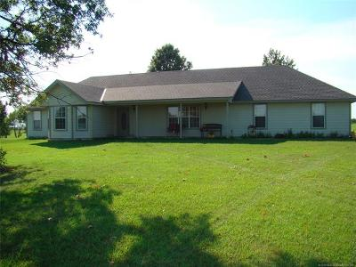 Bartlesville Single Family Home For Sale: 22683 N 4032 Drive
