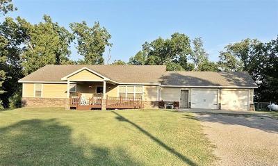Tahlequah Single Family Home For Sale: 25627 E 745 Road