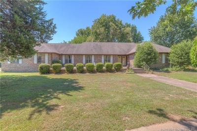 Muskogee Single Family Home For Sale: 5321 Fern Mountain Road