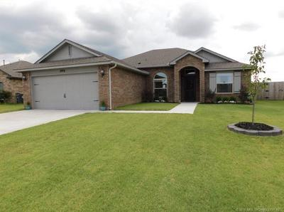 Glenpool Single Family Home For Sale: 1096 E 148th Street S