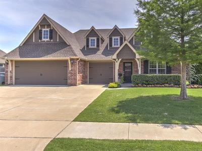 Jenks Single Family Home For Sale: 10711 S Nathan Street