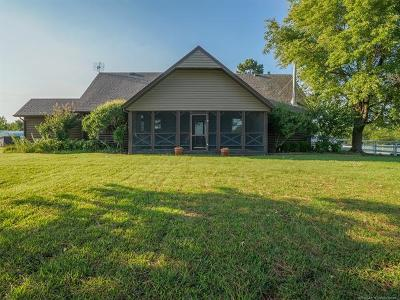 Muskogee Single Family Home For Sale: 8200 W 53rd Street S