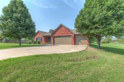 Collinsville Single Family Home For Sale: 12382 N 165th East Avenue