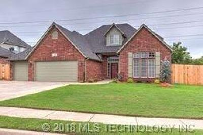 Jenks Single Family Home For Sale: 11704 S Willow Place