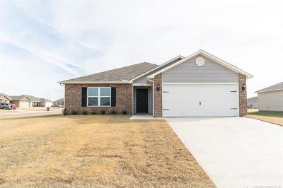Tulsa Single Family Home For Sale: 3729 S 153rd Avenue E