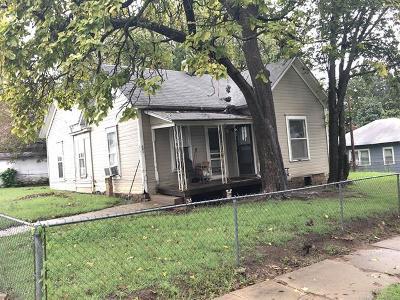 Okmulgee Single Family Home For Sale: 401 S Muskogee Avenue
