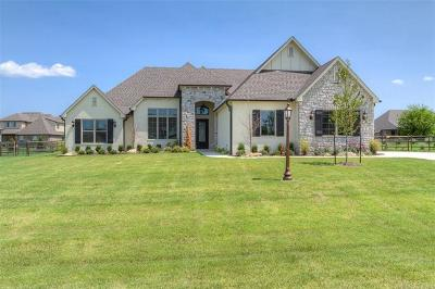 Owasso Single Family Home For Sale: 18529 E Red Fox Trail