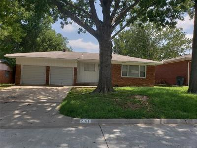 Tulsa Single Family Home For Sale: 2161 S 75th East Avenue