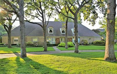 Tulsa Single Family Home For Sale: 6936 S Delaware Place