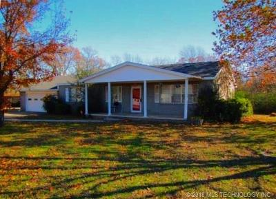 Ada OK Single Family Home For Sale: $99,000