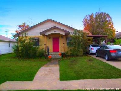 Ada OK Single Family Home For Sale: $87,500