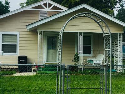 Okmulgee Single Family Home For Sale: 1312 W 4th Street