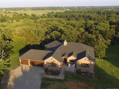 Creek County Single Family Home For Sale: 44254 W 171st Street S