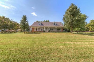 Coweta Single Family Home For Sale: 30912 E 111th Street S