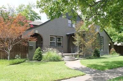 Ada Single Family Home For Sale: 505 S Highland Street