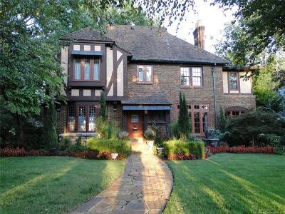 Tulsa Single Family Home For Sale: 2905 S Quaker Avenue