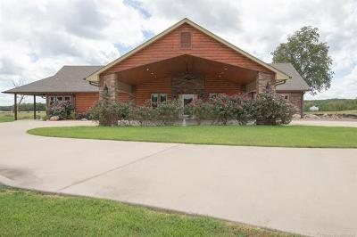 Hulbert OK Single Family Home For Sale: $895,000