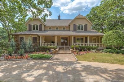 Tulsa Single Family Home For Sale: 10716 S 66th East Avenue
