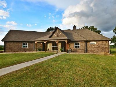 Tahlequah OK Single Family Home For Sale: $590,000