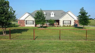 Collinsville Single Family Home For Sale: 16803 N 97th East Avenue