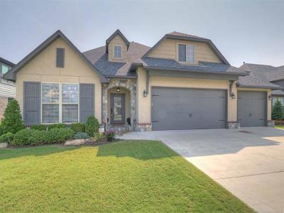 Jenks Single Family Home For Sale: 12805 S Date Street