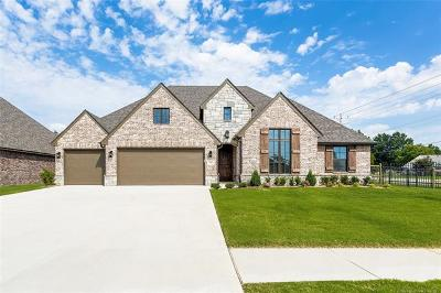 Owasso Single Family Home For Sale: 7601 N 142nd East Avenue