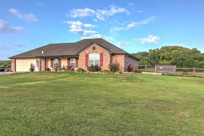 Claremore Single Family Home For Sale: 19300 Coyote Trail
