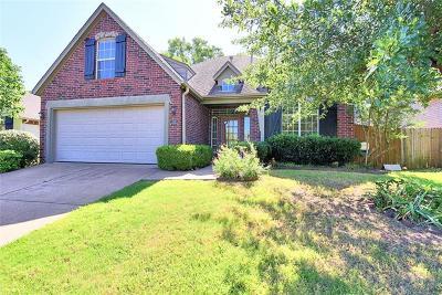 Tulsa Single Family Home For Sale: 7839 S 95th East Avenue