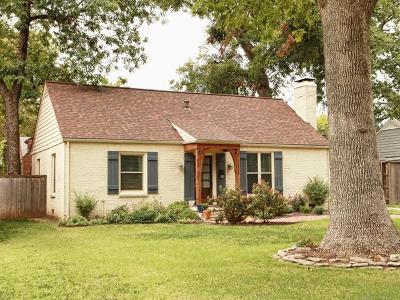 Tulsa Single Family Home For Sale: 3008 S Boston Court
