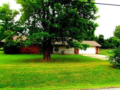 Claremore Single Family Home For Sale: 14885 E 480 Road