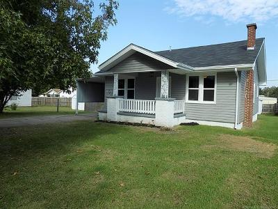 Holdenville OK Single Family Home For Sale: $98,900