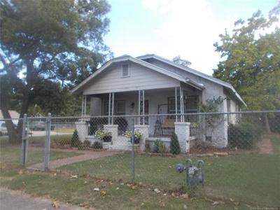 Claremore Single Family Home For Sale: 620 N Seminole Avenue