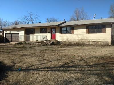Eufaula OK Single Family Home For Sale: $59,025