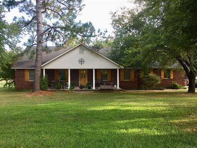 Fort Gibson Single Family Home For Sale: 609 Cemetery Road