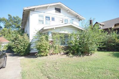 Okmulgee Single Family Home For Sale: 511 N Okmulgee Street