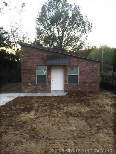 Claremore Single Family Home For Sale: 721 S Maryland Avenue
