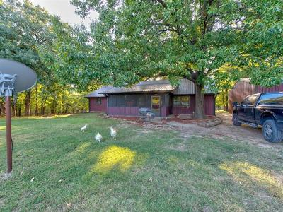 Okmulgee Single Family Home For Sale: 9585 Celia Berryhill Road
