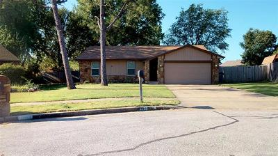 Jenks Single Family Home For Sale: 11256 S Emerson Place