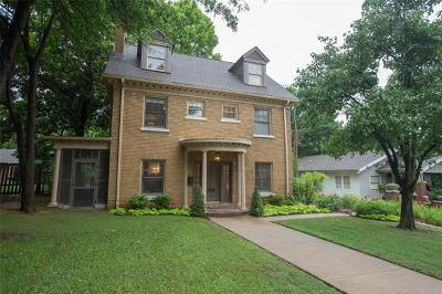 Tulsa Single Family Home For Sale: 2146 S Cincinnati Avenue
