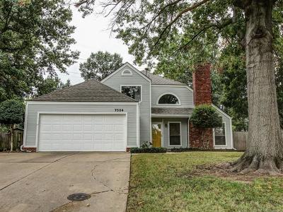 Tulsa Single Family Home For Sale: 7524 S 86th East Place