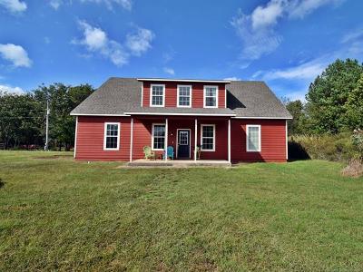 Hulbert OK Single Family Home For Sale: $239,900