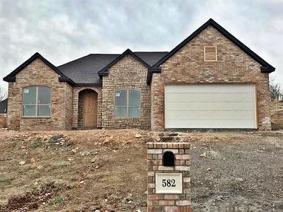 Tahlequah Single Family Home For Sale: 582 Woodlands Drive