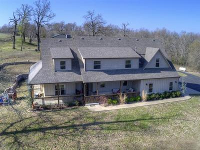 Claremore Single Family Home For Sale: 16511 S 4230 Road