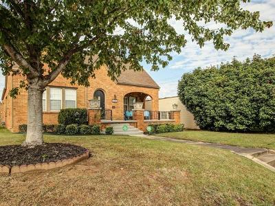 Tulsa Single Family Home For Sale: 1508 S Gary Avenue S