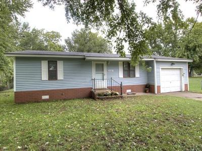 Claremore Single Family Home For Sale: 609 N Weenonah Avenue