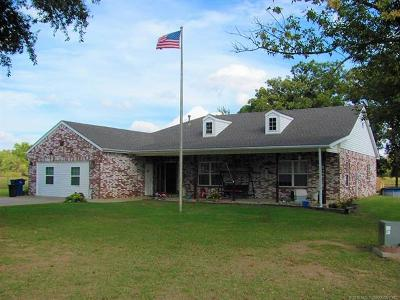 Okmulgee Single Family Home For Sale: 9288 Highway 56 Highway