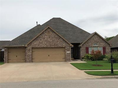 Glenpool Single Family Home For Sale: 14714 Courtney Lane