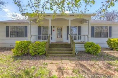 Claremore Single Family Home For Sale: 14750 E 400 Road